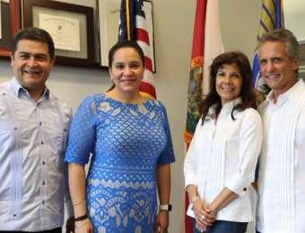 Honduras fortalece lazos de amistad y comercio con la ciudad de Doral, Florida