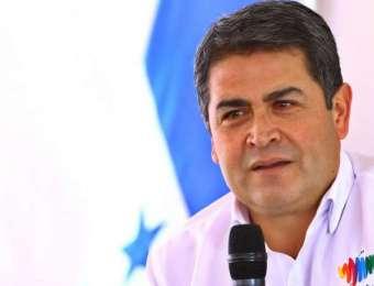 """""""La mayoría de la opinión internacional es positiva"""" para Honduras: presidente Hernández"""