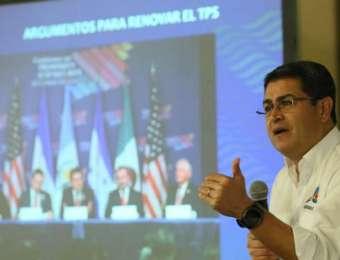 """""""Seguiremos dando la lucha a favor del TPS"""": presidente Hernández"""