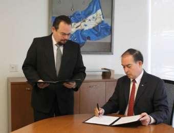 Honduras firma la renovación de la declaración conjunta suscrita entre el departamento de trabajo de los Estados Unidos y la secretaria de relaciones exteriores y cooperación internacional de la republica de Honduras