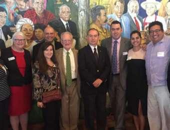 Exitosa visita de trabajo del Embajador de Honduras en EEUU a San Antonio, Texas